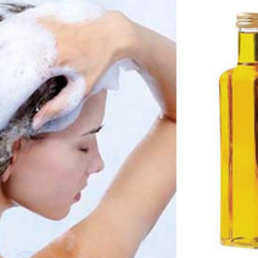 Как очистить волосы от масла