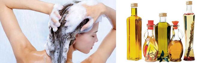 Как очистить локоны от масла