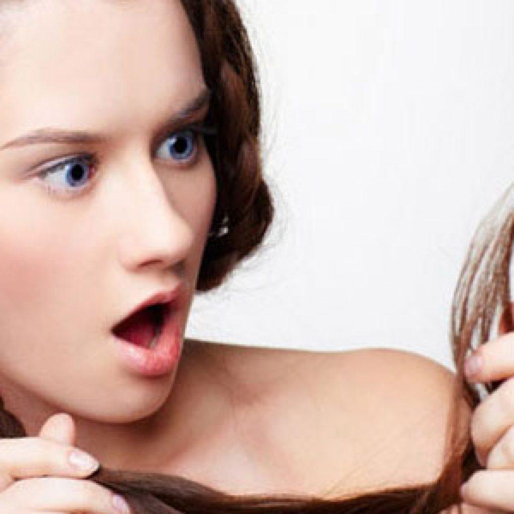 Как сделать маску для лечения секущихся кончиков волос