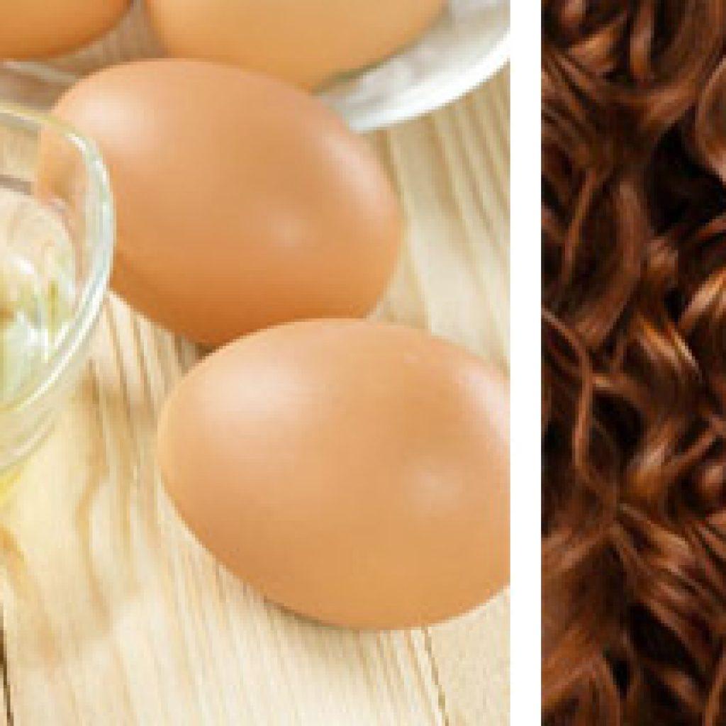 Применение яиц для волос