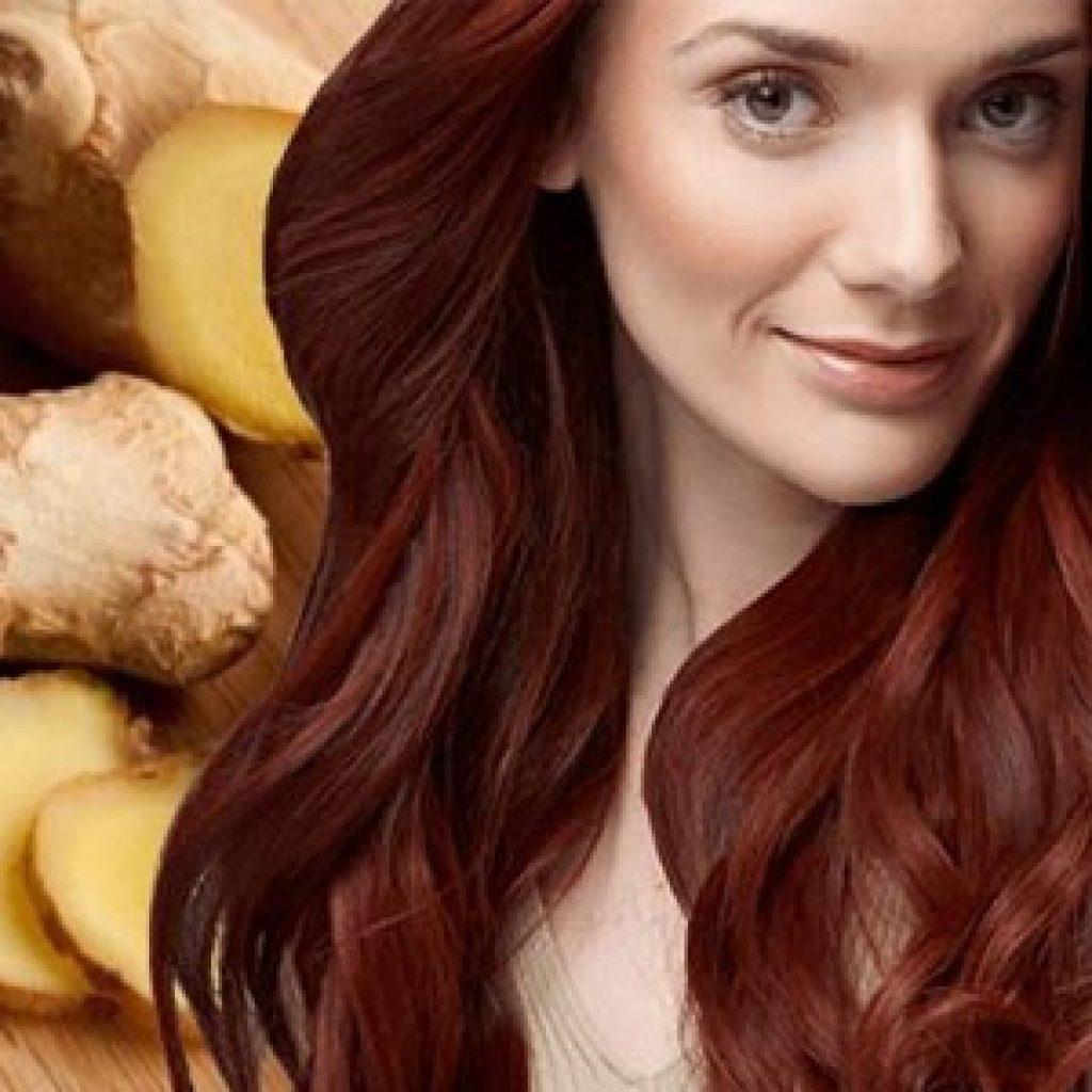 Применение масок для волос на основе корня имбиря