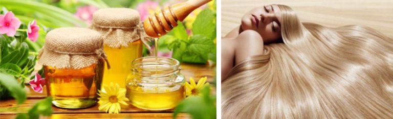 Мед для волос с маслами в домашних условиях