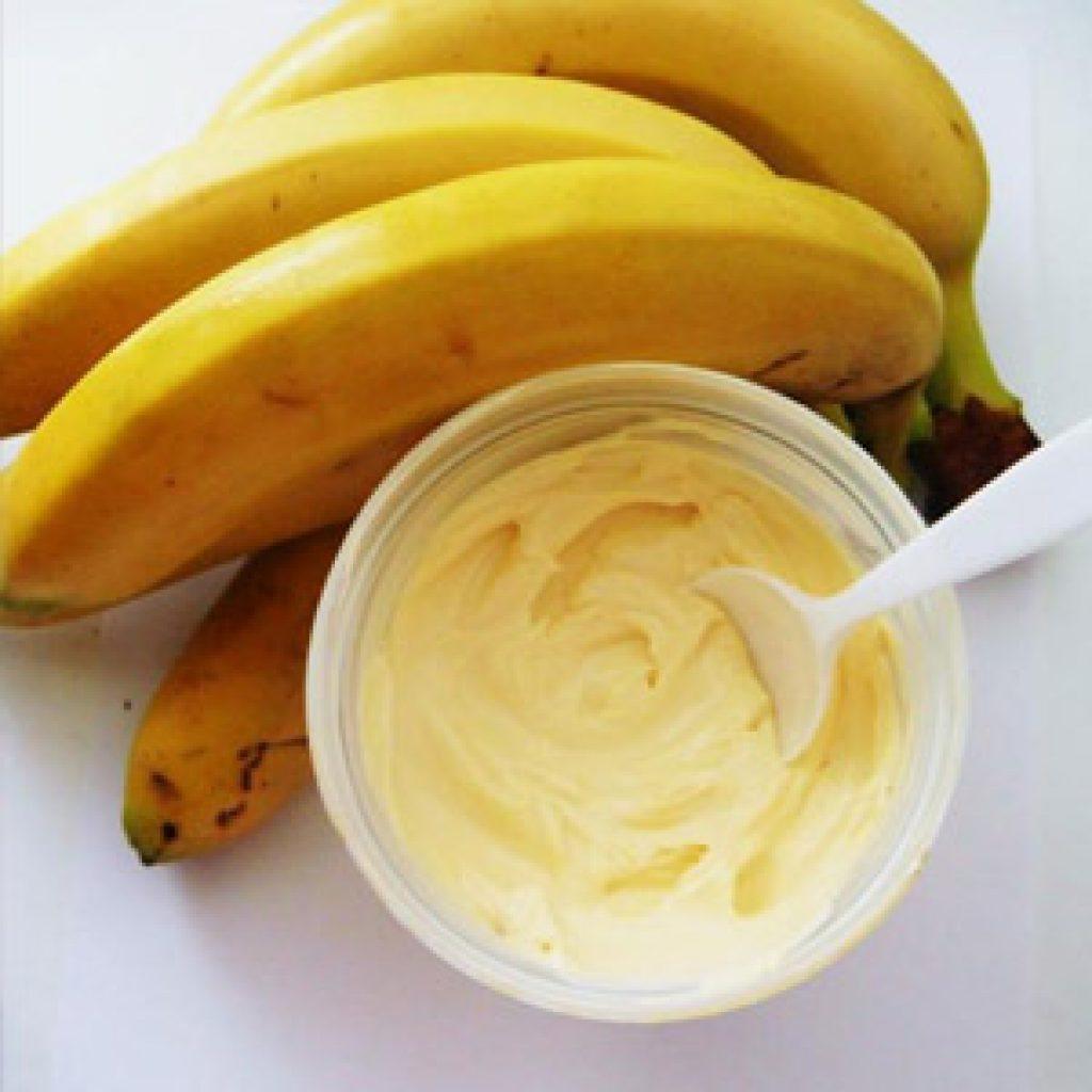 Маски на основе бананов для волос