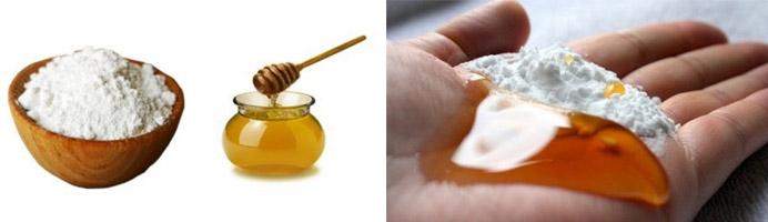 Медово-содовая смесь