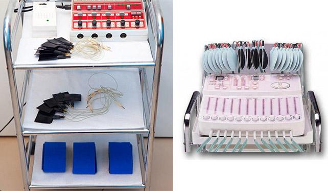 Аппараты для миостимуляции