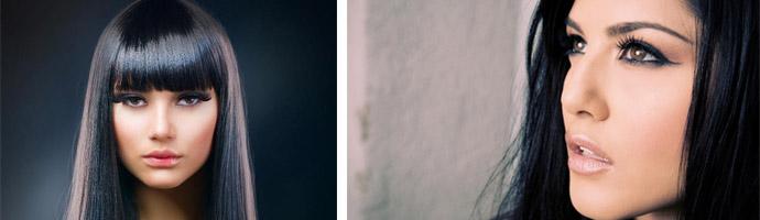 Как покрасить локоны в черный цвет
