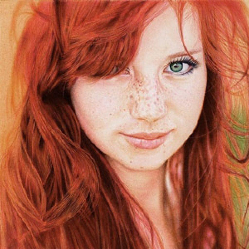Кому пойдут волосы рыжего цвета