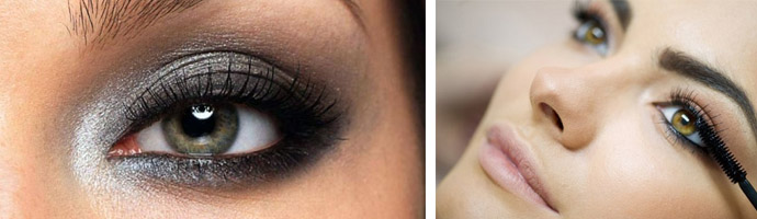 Мейкап для глаз зеленых оттенков