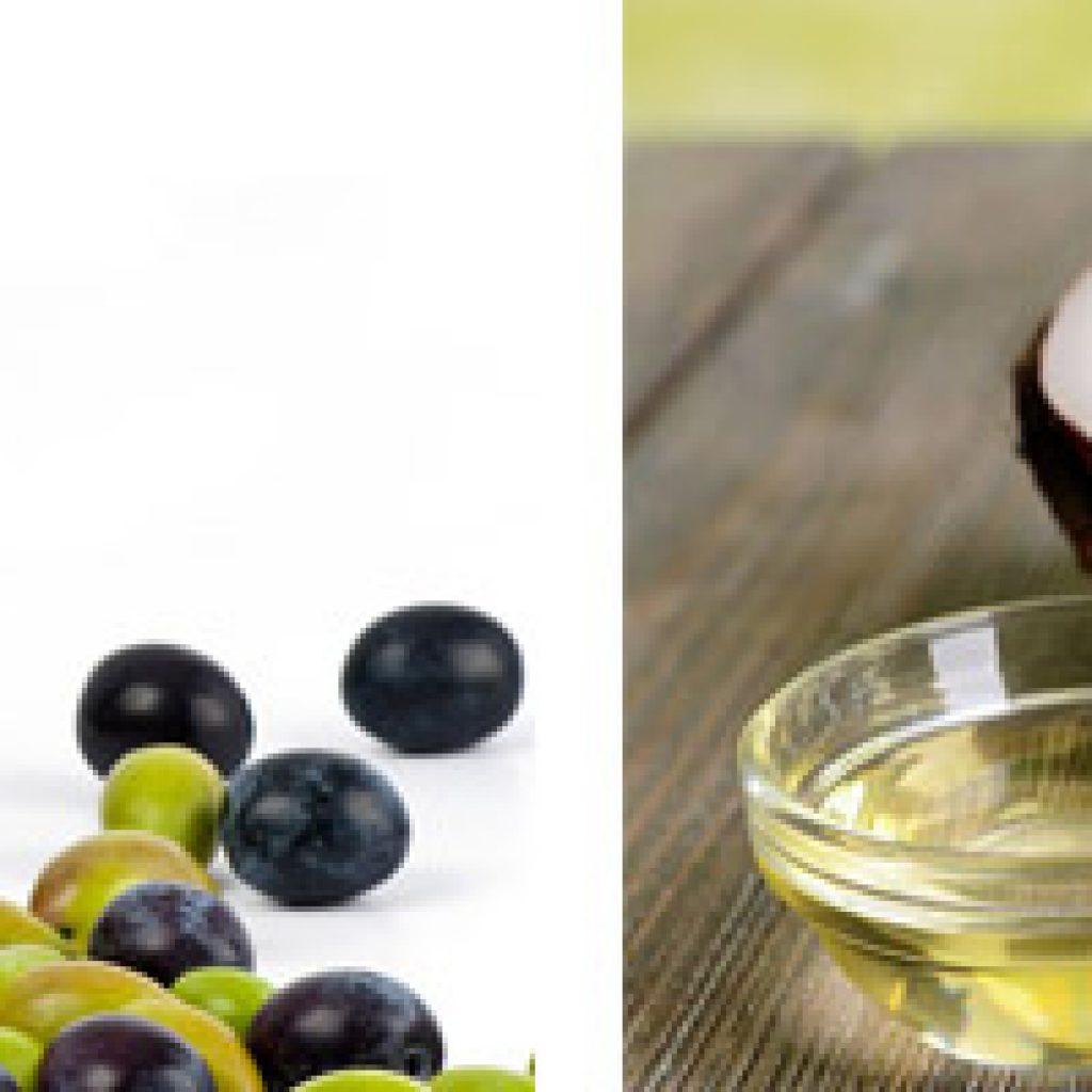 Оливковое и кокосовое масло