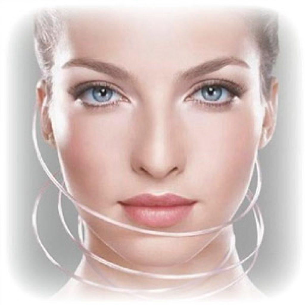 Подтяжка лица косметическими нитями