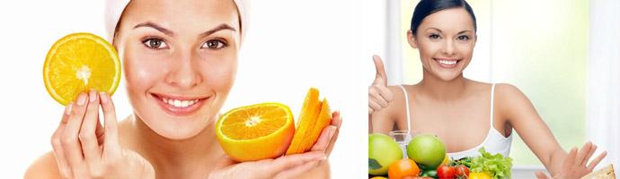 Витамины для молодости кожи лица: где содержатся, рейтинг полезных продуктов
