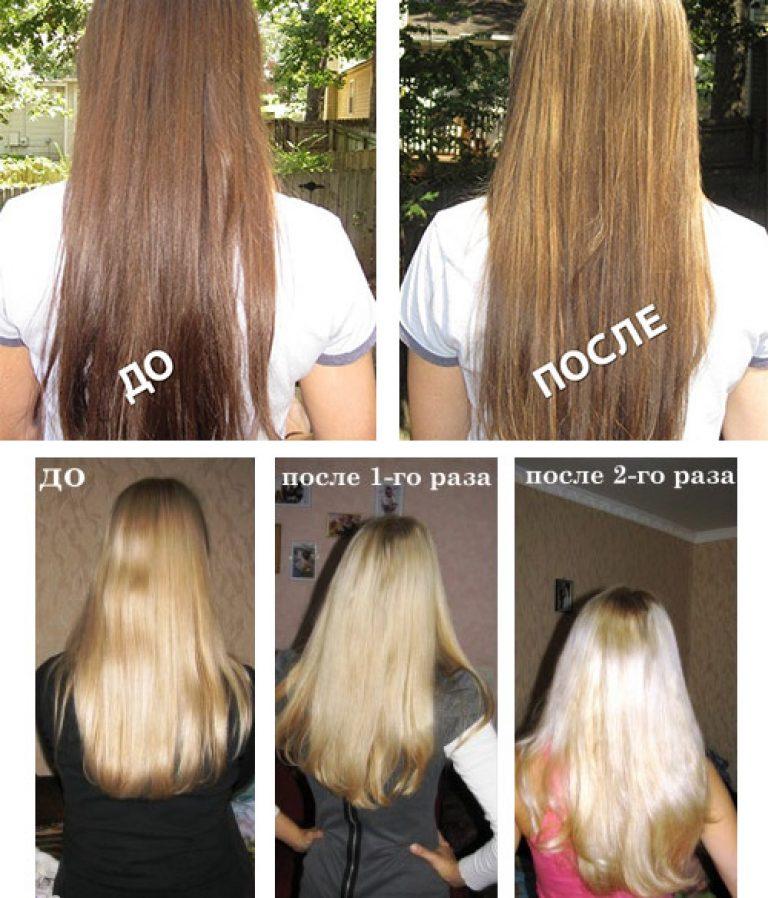 Вредно ли осветление волосам 146