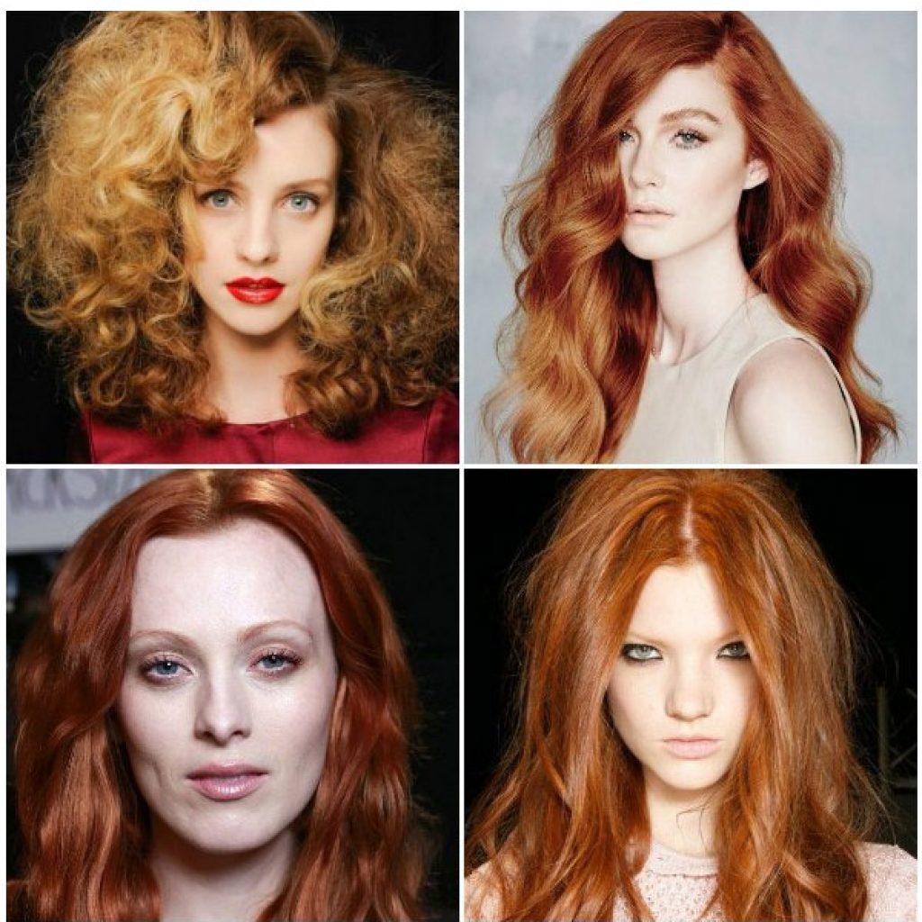 Стрижки и рыжий цвет волос 2017 модные тенденции
