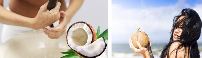 Эффективность кокосовых масок