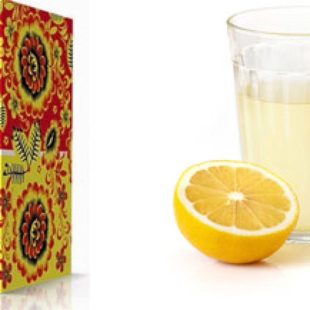 Дрожжи и лимонный сок