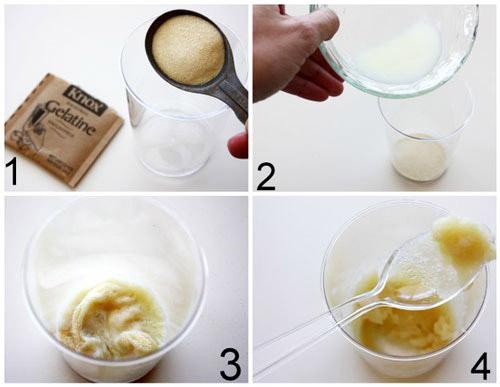 Желатиновая маска с молоком