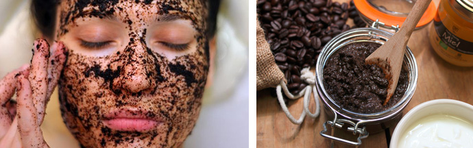 Кофейные маски и скрабы