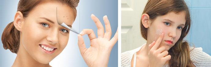 Лечение кожных высыпаний