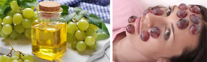 Маски на основе винограда