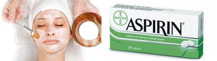 Маски с ацетилсалициловой кислотой