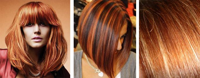 Покраска волос фото цвета