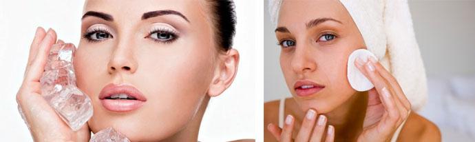 Способы очищения кожи