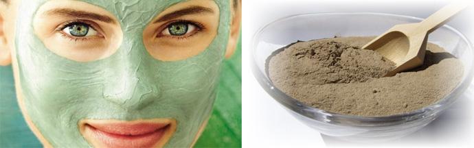Очищение кожи при помощи глины