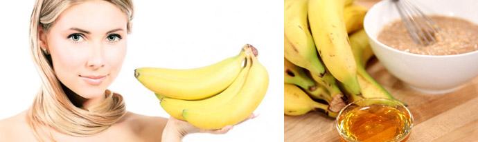 Польза банана для кожи