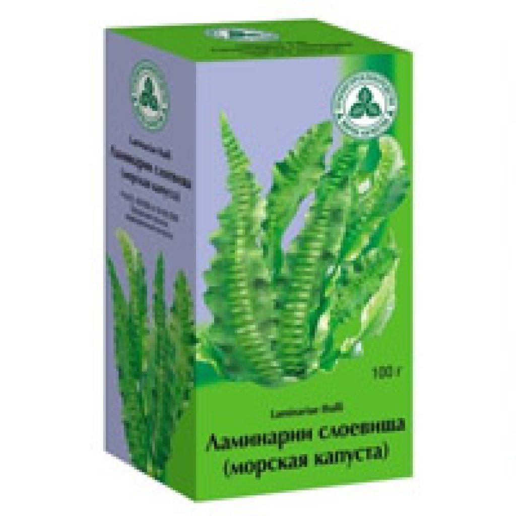 Польза бурых водорослей