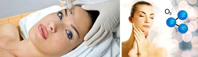 Польза озонотерапии для лица