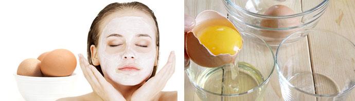 Польза яйца для кожи