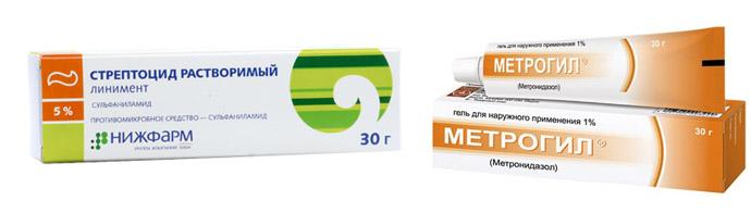 Противоугревые препараты