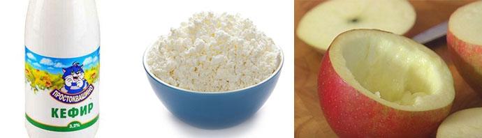 Рецепт для покрова жирного типа