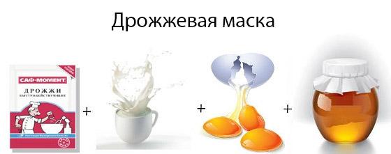 Рецепт на основе дрожжей