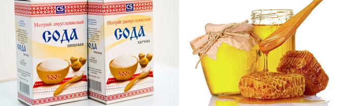 Сода с медом