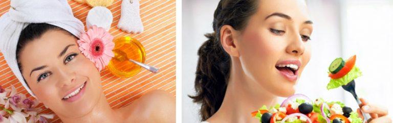 Продукты полезные для кожи - список продуктов для красоты кожи