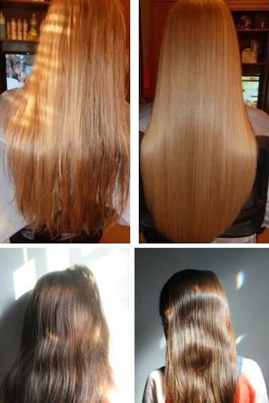 Фото до и после ламинирования