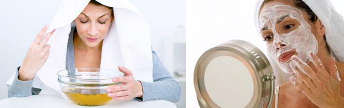 Этапы очищения лица