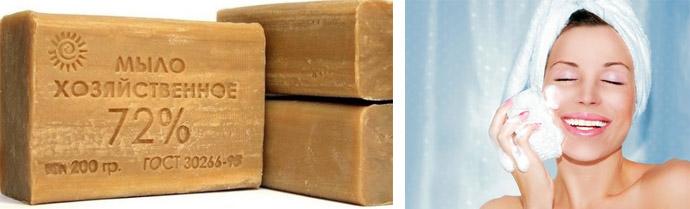 Эффективность хозяйственного мыла