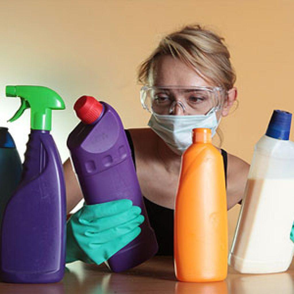 Аллергическая реакция на средства бытовой химии