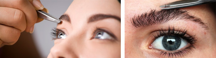Коррекция бровей: как проводится, выбор формы, фото до и после