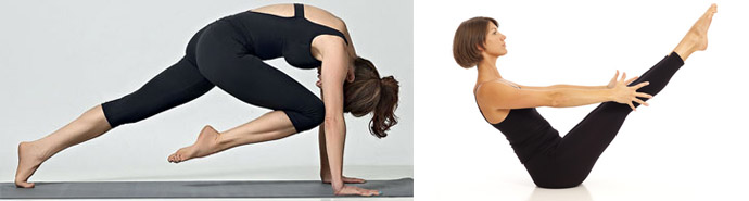 Йога для мышц пресса