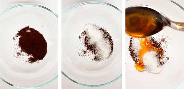 Кофе, соль и мед