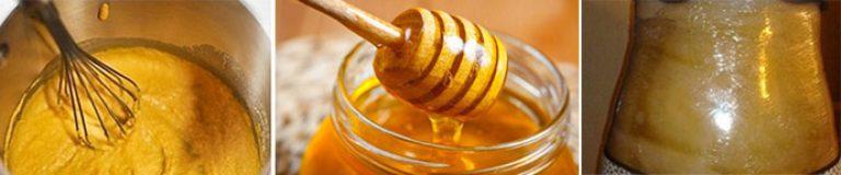 Обертывание с медом и уксусом