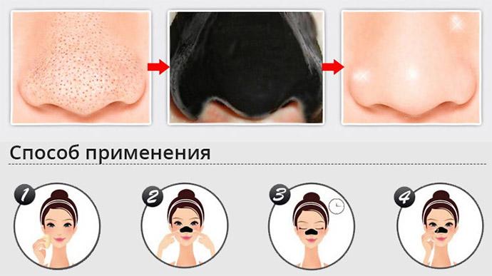 Применение маски