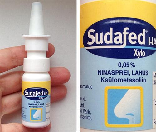 Противоотечный препарат Судафед