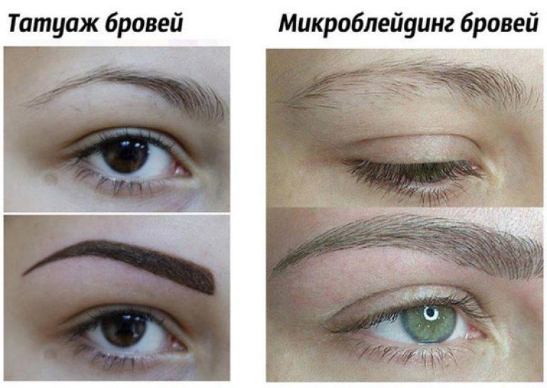 Чем отличается перманентный макияж от микроблейдинга