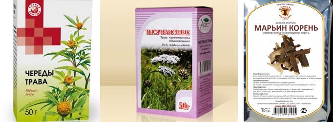 Травы для лечения аллергии