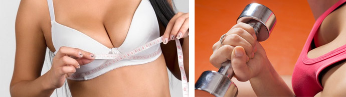 Гимнастика для роста груди