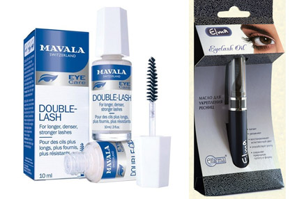 Double-Lash и Eyelash oil